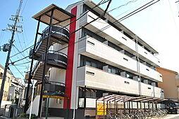 大阪府枚方市北山1丁目の賃貸マンションの外観