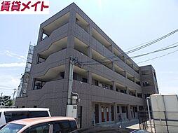 三重県鈴鹿市道伯2丁目の賃貸マンションの外観