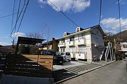 山梨県甲府市岩窪町の賃貸アパートの外観