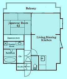 第2ウィスタリアマンション[3階]の間取り