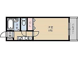 宮元七番館[3階]の間取り