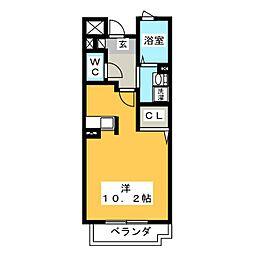 ピュア[1階]の間取り