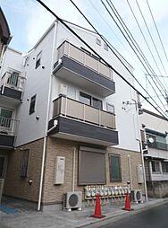 東京都足立区中川1丁目の賃貸アパートの外観