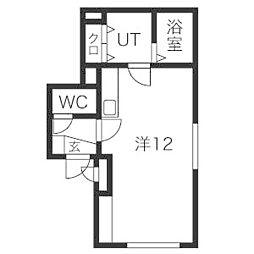 FUDOビル[5階]の間取り