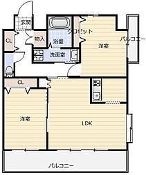 フェルト515[7階]の間取り