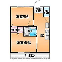 第1みずほビル[4階]の間取り