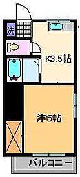 ベルハイム小菅[1階]の間取り