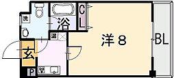 Ritz小阪[2階]の間取り