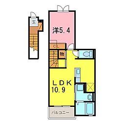ドリームふしみ[2階]の間取り