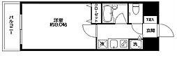 KWレジデンス東大井[0203号室]の間取り