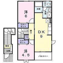 M−FLAT[2階]の間取り