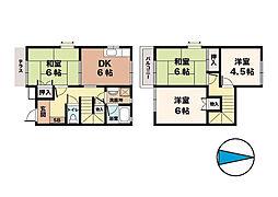 [タウンハウス] 兵庫県神戸市西区北別府3丁目 の賃貸【兵庫県 / 神戸市西区】の間取り