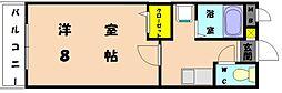 アトラクティブ香椎[2階]の間取り