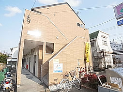 千葉県松戸市古ケ崎2丁目の賃貸アパートの外観