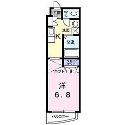 グランドネイジュ東園田[2階]の間取り