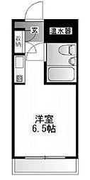 シャンブルド日野[4階]の間取り