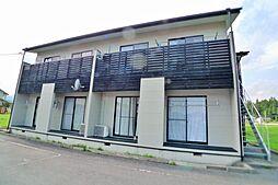 栃木県日光市和泉の賃貸アパートの外観