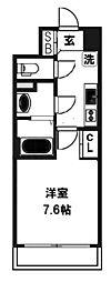 レジュールアッシュJUSO[702号室]の間取り