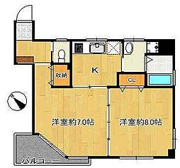 文京ツインタワー[8階]の間取り