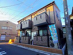 埼玉県狭山市富士見1の賃貸アパートの外観