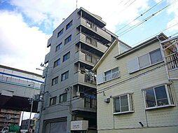 兵庫県西宮市甲子園洲鳥町の賃貸マンションの外観