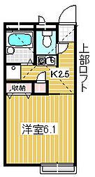 グランアルブル石神井[1階]の間取り