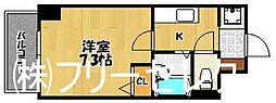 ラフォーレ博多駅前[7階]の間取り