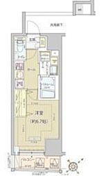 東京都港区高輪1丁目の賃貸マンションの間取り