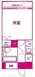 ライフゾーン梶ヶ谷3[1階]の間取り