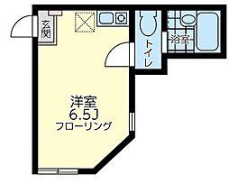 ユナイト 井土ヶ谷エストレーラ[1階]の間取り