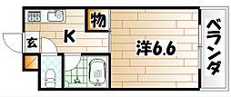 プレアール戸畑駅東[2階]の間取り