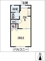 ステージ栄[2階]の間取り