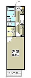 デザインコート3[2階]の間取り