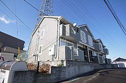 茨城県日立市小木津町1丁目の賃貸アパートの外観