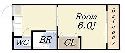 武智産業ビル[3階]の間取り