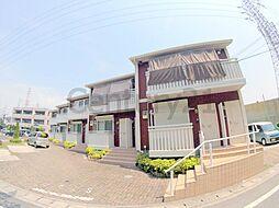 兵庫県伊丹市池尻6丁目の賃貸アパートの外観