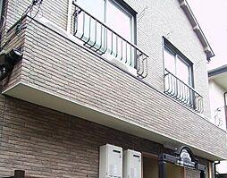 東京都新宿区上落合2丁目の賃貸アパートの外観