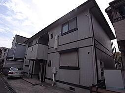 兵庫県明石市人丸町の賃貸アパートの外観