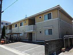 兵庫県尼崎市浜田町3丁目の賃貸アパートの外観