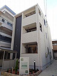 愛知県名古屋市東区矢田4の賃貸アパートの外観