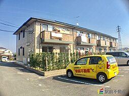 福岡県筑後市大字羽犬塚の賃貸アパートの外観