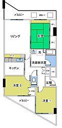 ライムライト松風台3[203号室号室]の間取り