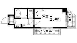 兵庫県明石市桜町の賃貸マンションの間取り