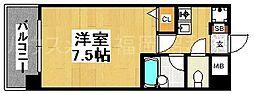 ピュアドームグラシアス大手門[2階]の間取り
