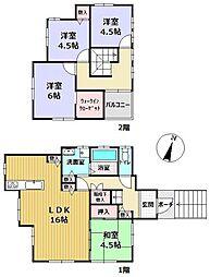 北鈴蘭台駅 1,980万円