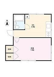 中山邸[2階]の間取り