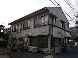 神奈川県川崎市中原区木月住吉町の賃貸アパートの外観