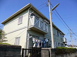 東京都東村山市廻田町4丁目の賃貸アパートの外観