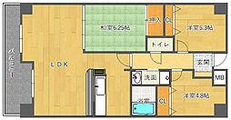 アビタシオン橋本II[3階]の間取り