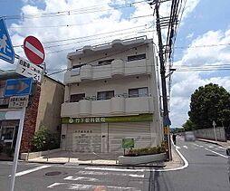 京都府宇治市五ヶ庄西浦の賃貸マンションの外観